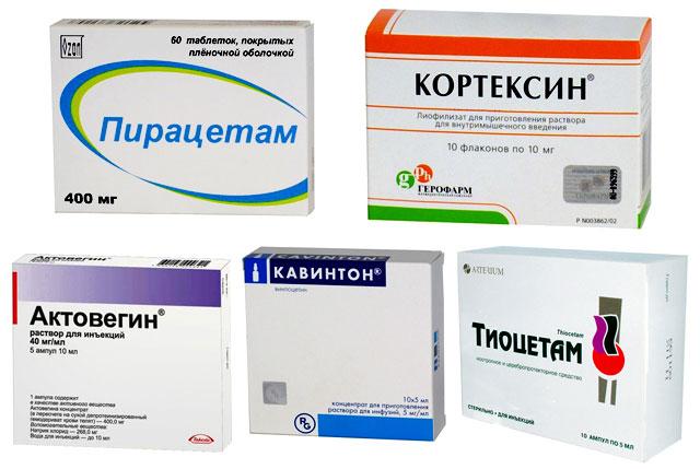 Лечение после инсульта препаратами